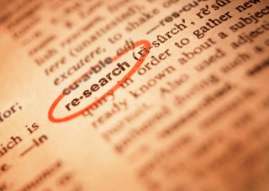 """image of """"research"""" word in dictionary"""