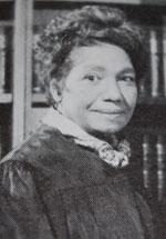 image of Lillian W. Burke in 1951