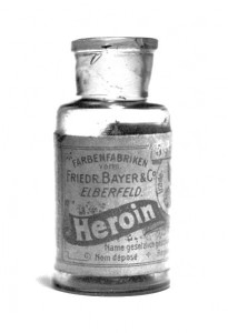 photo of Bayer Heroin bottle
